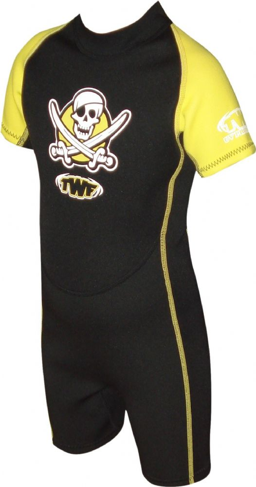 TWF PIRATE 2MM KIDS SUMMER  WETSUIT (AGE 2-10)